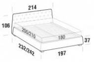 Модерна спалня  модел Atrium. Le Comfort, Италия