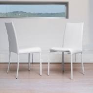 Модел Vanity - изцяло тапициран трапезен стол. Производител: Antonello, Италия. Модерни италиански трапезни кожени столове.