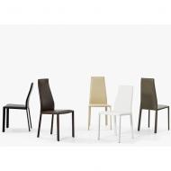 Модерен тапициран луксозен стол за трапезария. Модел Dalila, производител Bontempi, Италия.