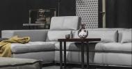 Мека мебел с кожена тапицерия модел Nick. Производител: Cierre imbottiti, Италия