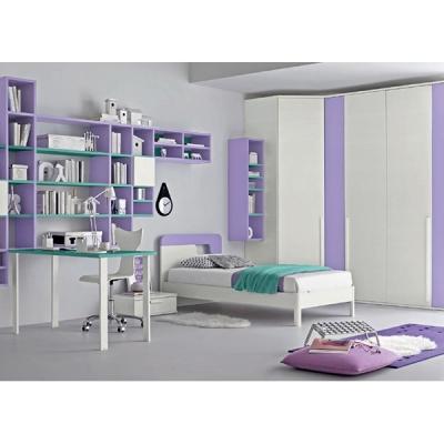 Модерни италиански мебели, аксесоари и осветление за детски стаи. Колекция Golf, композиция C505. Colombini, Италия. Италианско