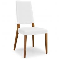 Стол за трапезария  модел Sandy. Производител: Connubia, Италия. Италиански модерни и комфортни дървени столове с кожени и текст