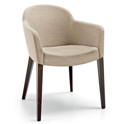 Модерен стол за трапезария и всекидневна Мод. Gossip. Производител: Calligaris, Италия.
