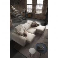 Модерен модулен диван с изцяло сваляща се текстилна тапицерия модел Graffiti. Le Comfort, Италия.