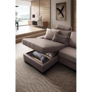 Модерна модулна мека мебел с механизъм за сън модел Icaro. Le Comfort, Италия. Мебели от Италия - дивани, кресла, спални с текст