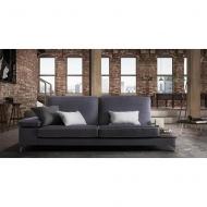 Модерна модулна мека мебел с изцяло сваляща се текстилна тапицерия и механизми за промяна ъгъла на облягане. Модел Jefferson. Пр