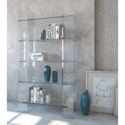 Стъклена витрина модел LB02. Италиански модерни мебели от стъкло - маси, витрини, скринове, конзоли, холни маси и др.