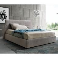 Модерна спалня с текстилна или еко кожа тапицерия модел Atrium. Le Comfort, Италия. Модерно и класическо италианско обзавеждане