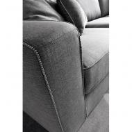 Модулна мека мебел с изцяло сваляща се текстилна тапицерия. Модел Magyster. Le Comfort, Италия. Модерни италиански мебели- диван
