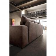Модерен италиански диван с възглавници с пружинен пакет модел Maxwell. Le Comfort, Италия - италиански мебели, мека мебел, кресл