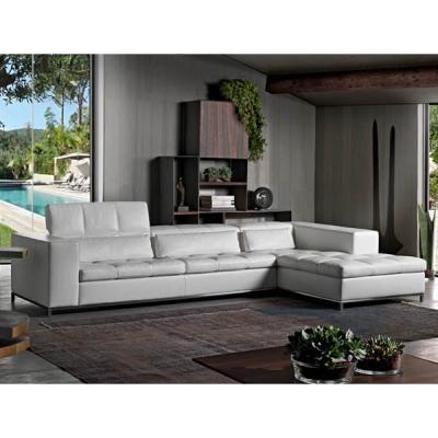 Мека мебел с кожена тапицерия модел Nick. Производител: Cierre imbottiti, Италия. Луксозни италиански кожени дивани.
