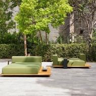 Колекция Pal - градинска мебел от тиково дърво, производител Point1920, Испания. Висококачествени мебели за открити пространства