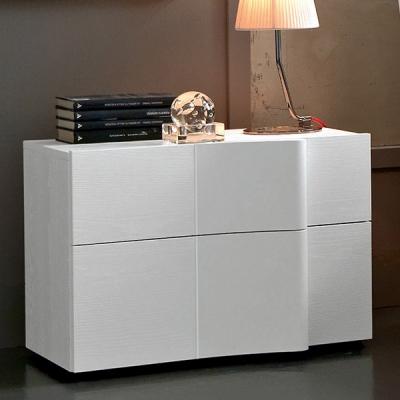 Модерно нощно шкафче от колекция Armonia, производител SMA, Италия. Дървесни материали с естествени фурнири или лакови покрития.