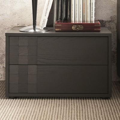 Модерни скринове и нощни шкафчета в лак или естествен фурнир, модел Lido, производител SMA, Италия