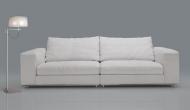 Луксозен кожен диван с гъши пух мод. Dolce vita. Производител: Cierre imbottiti, Италия
