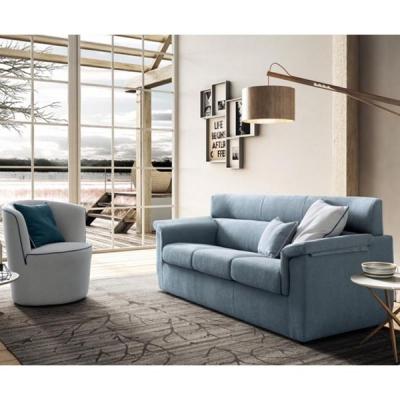 Модерни италиански дивани с изцяло сваляща се текстилна тапицерия и механизъм за сън. Модел Trick. Le Comfort, Италия. Италианск