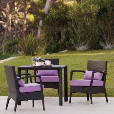Мод. Amberes - мебели и аксесоари от изкуствен ратан подходящи за външни условия. Производител: Point, Испания. Луксозни испанск