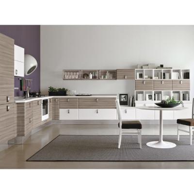 Модерна модулна кухня модел Aqua glam. Colombini, Италия. Модерни модели италиански кухни от масив, естествен фурнир, полимерни