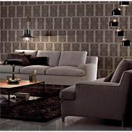 Луксозен италиански диван модел Malta, производител Arketipo, Италия. Разнообразие от модули, текстилни и кожени тапицерии, пълн