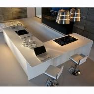 Модерен модел италианска кухня от масив, естествен фурнир, ламинат и др.- мод. Arcobaleno. Производител: ARREX, Италия. Безплате