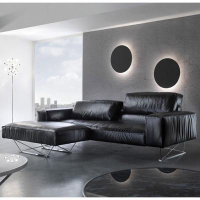Модерна модулна мека мебел с кожена или текстилна тапицерия модел Back up. G&G, Италия. Луксозни италиански дивани - прави, ъгло