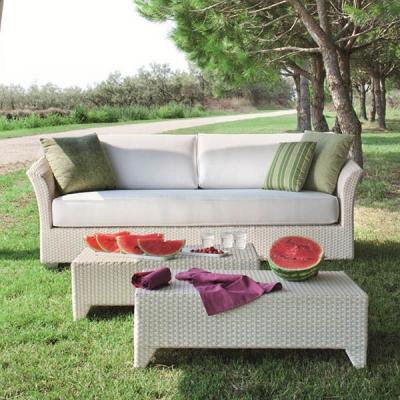 Колекция Barbados - мебели и аксесоари от изкуствен ратан подходящи за външни условия. Производител: Atmosphera, Италия. Луксозн
