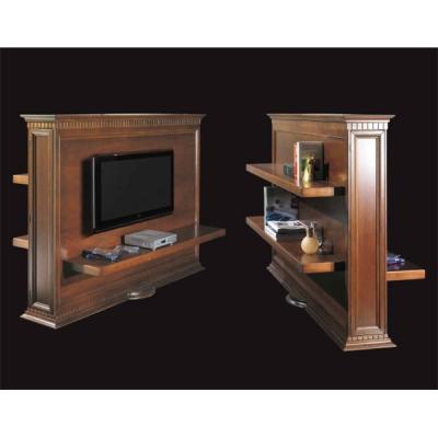 Класическа TV стойка мод. Beatrix.  Производител: Epoque, Италия. Луксозни класически италиански тв стойки от масив и дървесни м