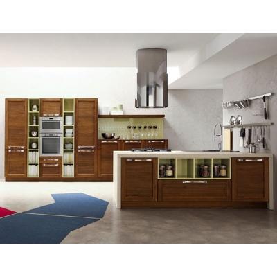 Модерен и винтидж модел кухня от масив и естествен фурнир модел Bianca. Arrex, Италия. Луксозни модерни и винтидж модели италиан
