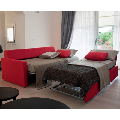 Мека мебел с функция за сън модел Bipper. Производител: Rigosalotti, Италия. Италиански дивани с механизъм за спане и изцяло сва