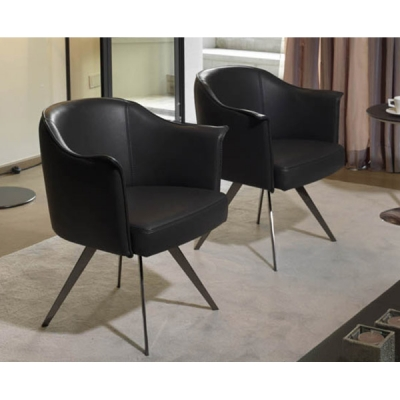 Мод. Boheme- ликсозно кожено кресло. Производител: Cierre imbottiti, Италия.