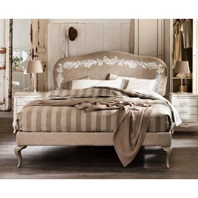 Mод. Byblos - спалня с текстилна или кожена тапицерия, алуминиеви крака и контейнер. Производител: Cantori, Италия. Класически т