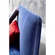 Модел Calvin - спалня с текстилна или кожена тапицерия, възможност за поставяне на контейнер. Le Comfort, Италия. Италиански мод