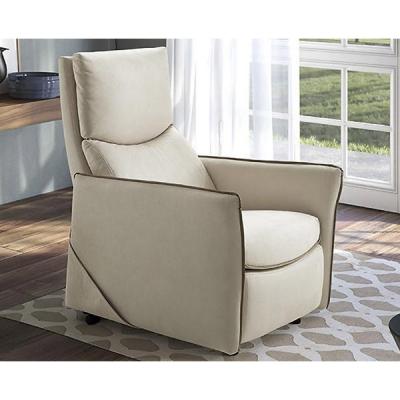Модерно италианско кресло с механични или моторизирани релакс механизми. Модел Camilla. Производител-Rigosalotti, Италия.