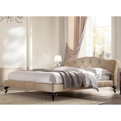 Mод. George - спалня с капитонирана табла, тапицирана с кожа, набук или текстил. Производител: Cantori, Италия. Луксозни италиан