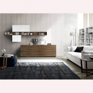 Висок клас модерни италиански мебели за дневна- секции, скринове, тв шкафове, витрини. Casablanca, Zanette