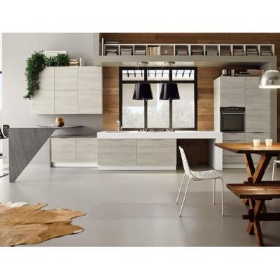 Модерен модел кухня с ламинирани или лакирани врати модел Cedro. Arrex, Италия. Модерни италиански кухни.