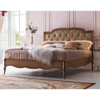 Мод. Cezanne - класическа спалня от масив с капитонирана табла, тапицирана в текстил или кожа. Производител: FM, Италия. Луксозн