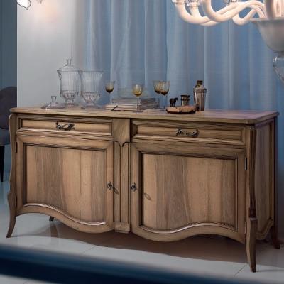 Mод. Cezanne - класически скрин от масив и дървесни материали подходящ за трапезария и дневна. Производител: FM, Италия. Луксозн
