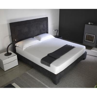 Кожена спалня мод. Gauguin. Производител: Cierre imbottiti, Италия. Модерни италиански спални с кожена тапицерия и контейнер.