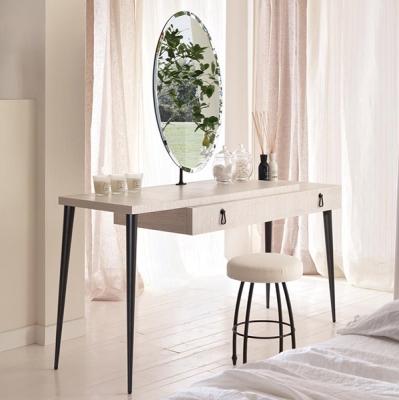 Mод. City - тоалетка и огледало с естествен фурнир и метал. Производител: Cantori, Италия.  Луксозни италиански тоалетки, конзол