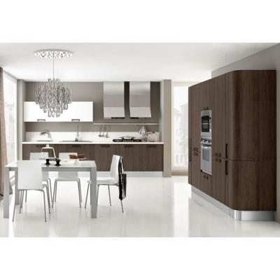 Модерен модел италианска кухня с меламиново покритие. Paragon glam. Colombini, Италия. Модерни италиански евтини модулни кухни.