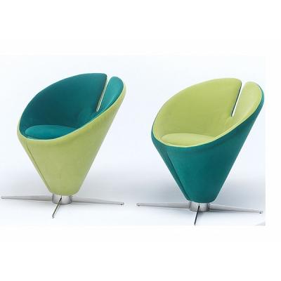 Кресло с въртяща се основа модел Conica. G&G, Италия. Луксозни италиански мебели - дивани, кресла, холни маси, библиотеки и др.