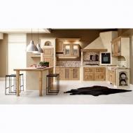 Класически модел италианска кухня Carola. Производител: ARREX, Италия. Класически кухни от масив, МДФ, ПДЧ с естествен фурнир, л