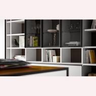 Модерни италиански композиции за дневна. Колекция Speed. Dallagnese, Италия. Луксозни италиански мебели за дневна - корпусна меб