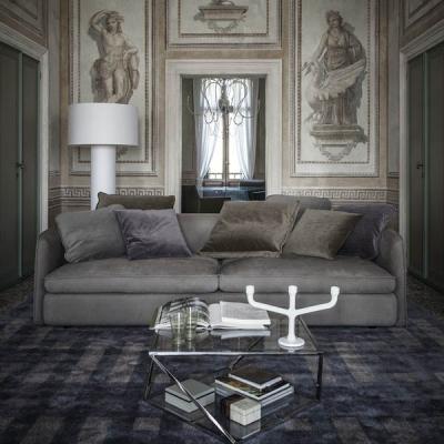 Мека мебел с кожена тапицерия. Луксозни италиански и испански дивани с кожена тапицерия. Кожени ъглови дивани.