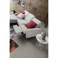 Модерен модулен диван с текстил или кожа, регулиране на гърба и релакс механизми. Модел Drive In. Le Comfort, Италия.