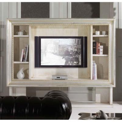 Класическа TV стойка мод. Elias.  Производител: Epoque, Италия. Луксозни италиански класически библиотеки и стойки за телевизор