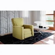 Модерно кресло с релакс механизми и изцяло сваляща се текстилна тапицерия мод. Emy. Производител: Rigosalotti, Италия.