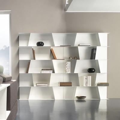 Модерна метална модулна библиотека модел Fly metal. G&G, Италия. Модерни и луксозни италиански мебели за дневна - библиотеки, ди