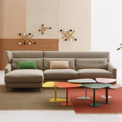 Модерен и комфортен модулен испански диван модел Folk. Sancal. Луксозни испански мебели-мека мебел, кресла, маси и столове.